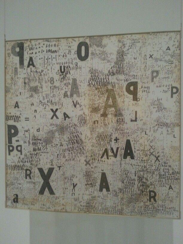 "Mira Schendel. Exposición""La Invención Concreta"". Colección Patricia Phelps. Museo Reina Sofía. Madrid #ArteContemporáneo #ContemporaryArt #Art #Arte #Arterecord 2013 https://twitter.com/arterecord"