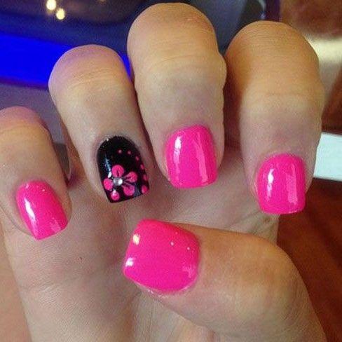 diseños de uñas de flores , Buscar con Google