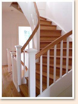 ein altbau wurde von santen bau in hamburg renoviert und bekam eine neue treppe treppe. Black Bedroom Furniture Sets. Home Design Ideas