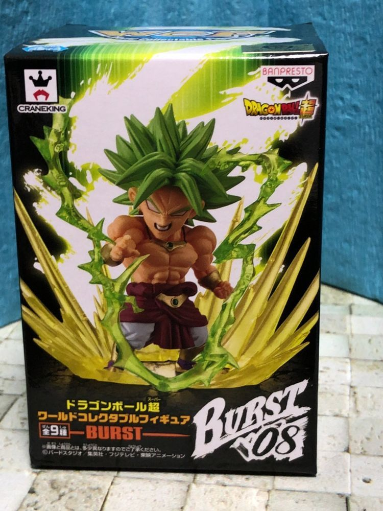 Dragon Ball Super Saiyan Vegeta World Collectible Figure WCF Burst Anime Art
