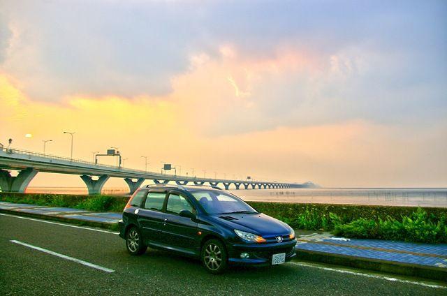房総半島横断ドライブ プジョー アクア 東京