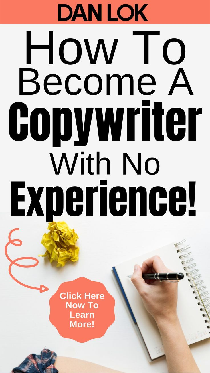 How To A Copywriter With No Experience Dan Lok in