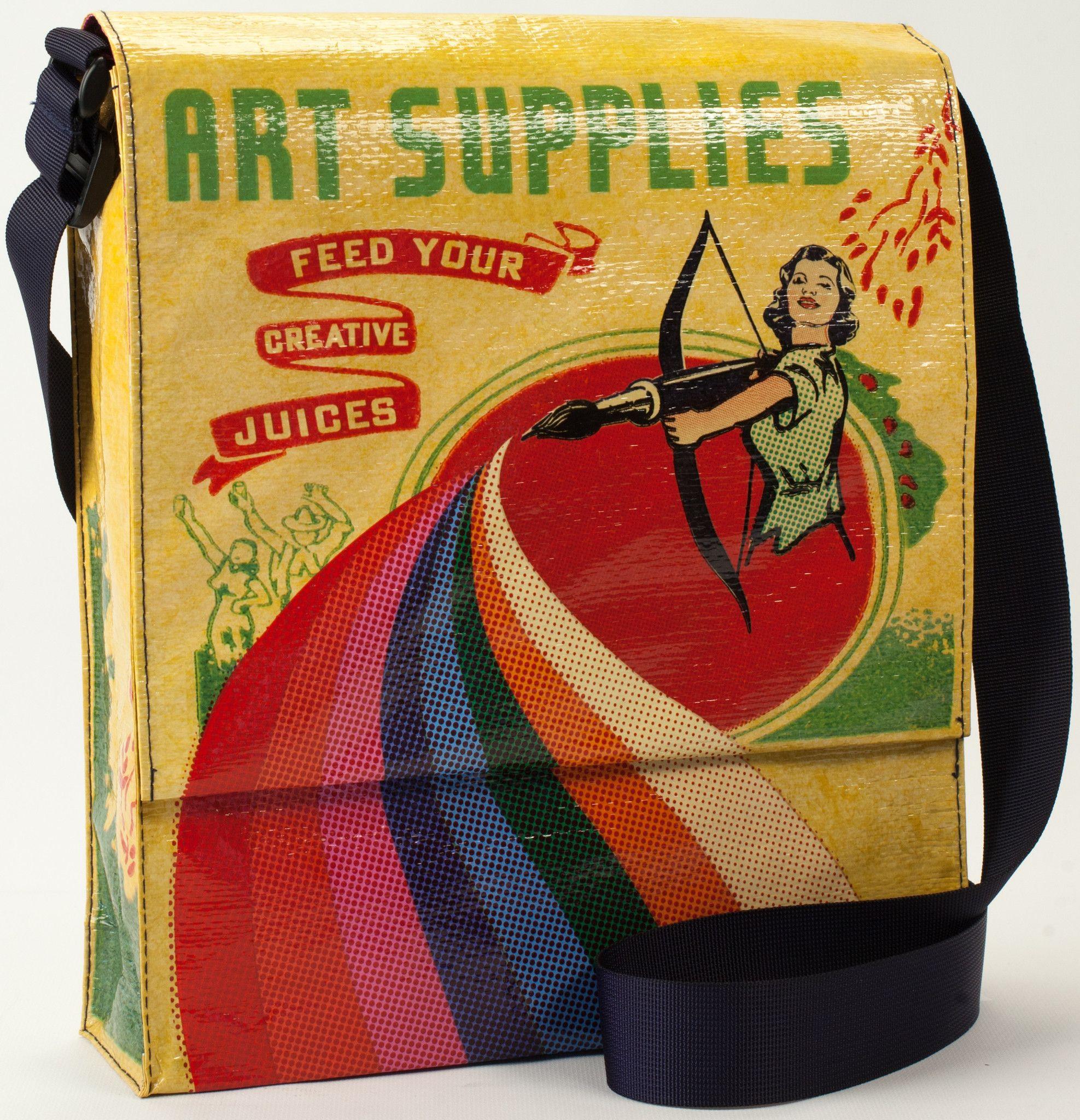 Blue Q Messenger Bag (Art Supplies)