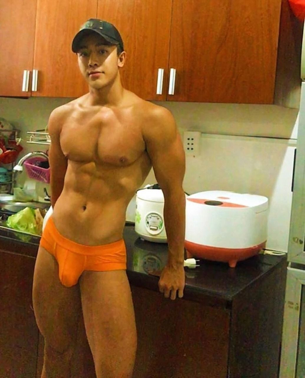 Asian hunk boy