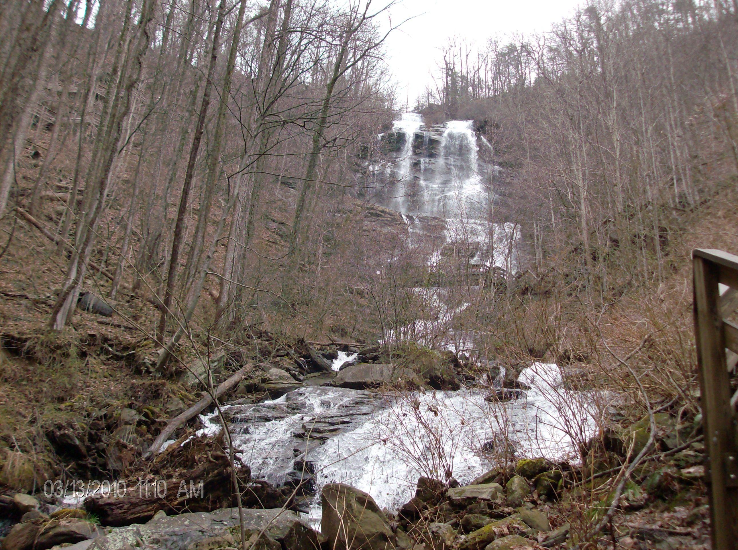 Amicalola Falls In Dawsonville Ga They Filmed An Episode