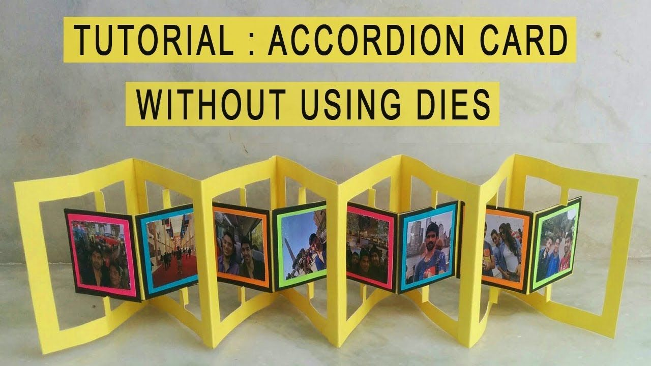Pin By Ingrid Verbruggen On Cards Accordion Cards Creative Birthday Cards Birthday Card Pop Up