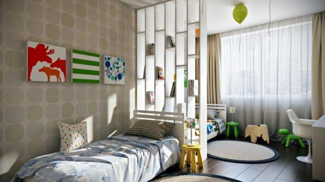 Raumaufteilung Kinderzimmer ~ Raumteiler für kinderzimmer ideen zur raumaufteilung sandro