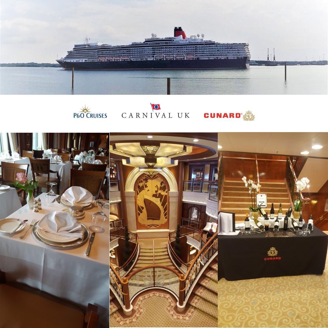 Working onboard for Cunard is a huge honour and