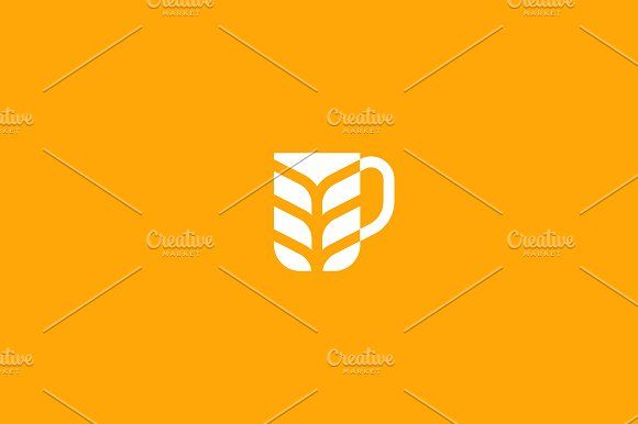 Stylized Mug Of Beer Templates Brewery Logotype Beer Vector Logo
