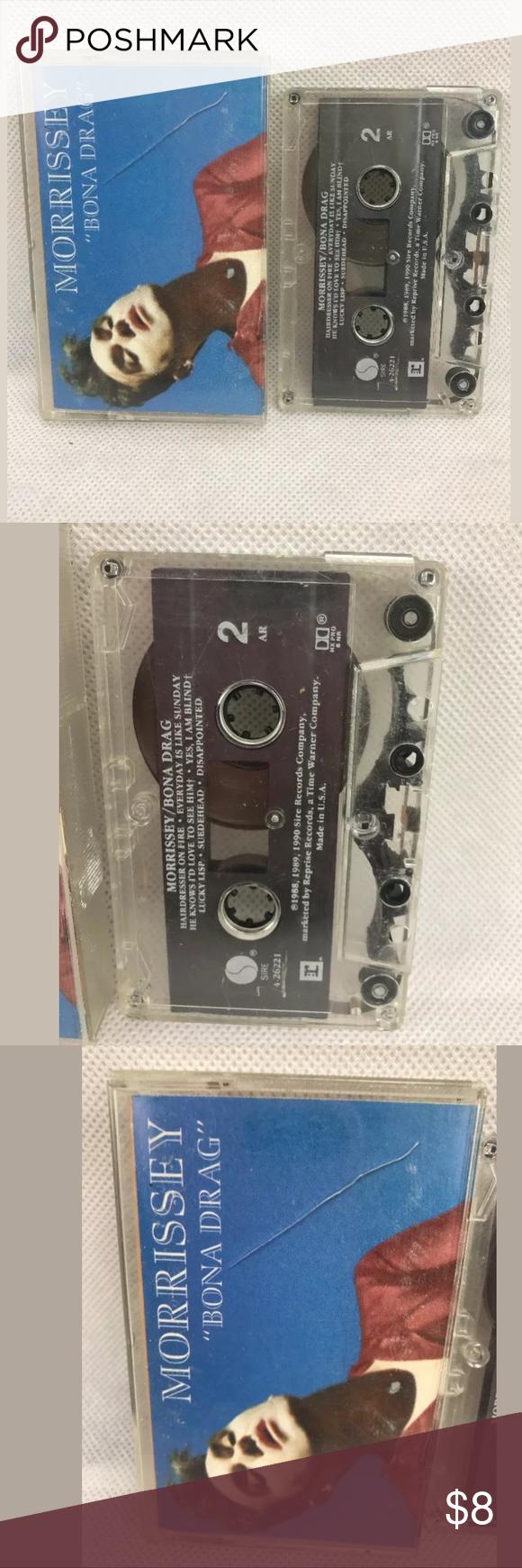 Morrissey Bona Drag Cassette Sire Records 1990 Morrissey Bona Drag Vinyl Records