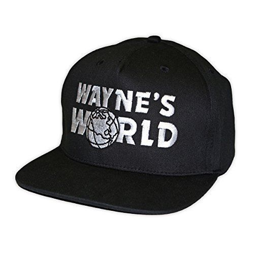 c26e90daa55 Wayne s World Embroidered Rapper Cap