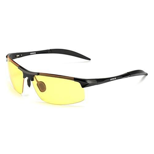 3ac13e31c7 SOXICK HD Night Vision Glasses Driving Polarized Anti-glare Rain Day (4  Styles)