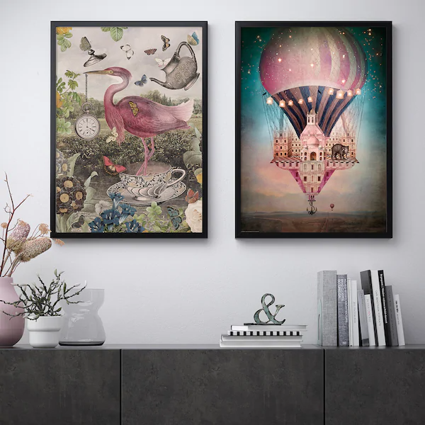 Bild Poster Fantasy Ikea Poster Art Poster Wall Art Decorating With Pictures