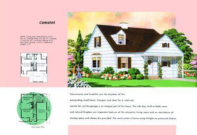 house - Beach House Design 1950s