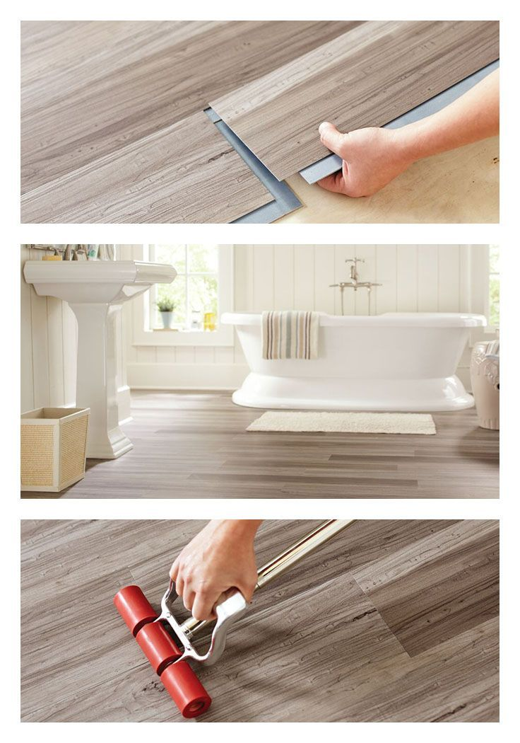 Get The Warm Look Of Wood Flooring But With The Water Resistance