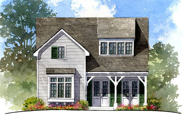 Inspired Communities Southern Living House Plans Narrow Lot House Plans Luxury House Plans