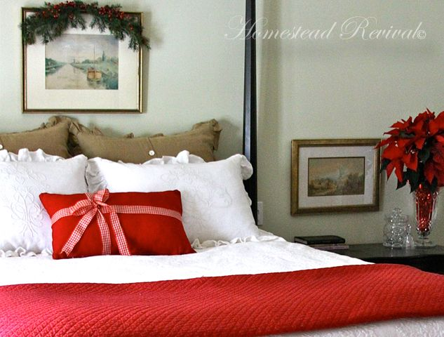 Homestead Revival: Christmas Bedrooms... Simple Transformations!