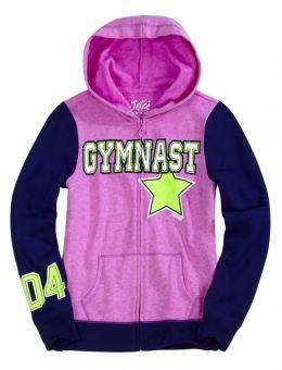 Gymnastic Sweatshirts For Kids Size