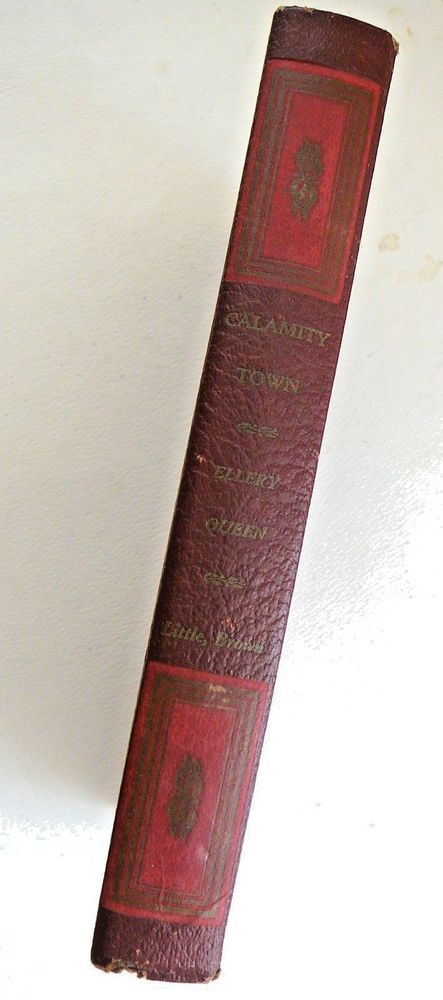 Ellery Queen, Calamity Town FIRST Edition, 1942 Mystery