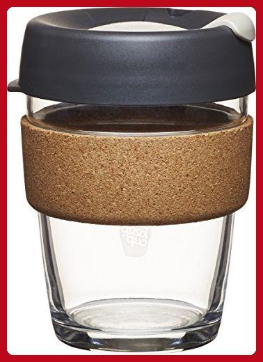 Glass Keepcup Brew Reusable Coffee Cup 12 Oz Medium