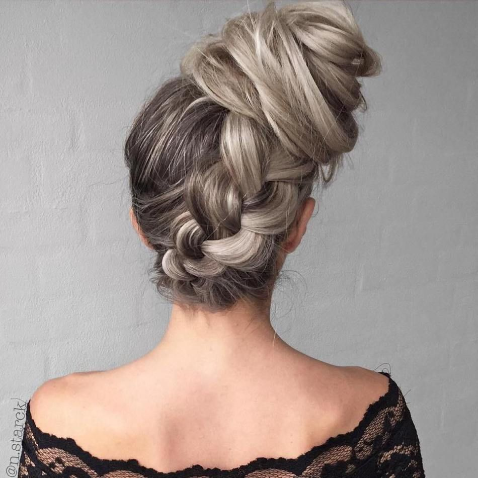 40 casual and formal side bun hairstyles for 2019