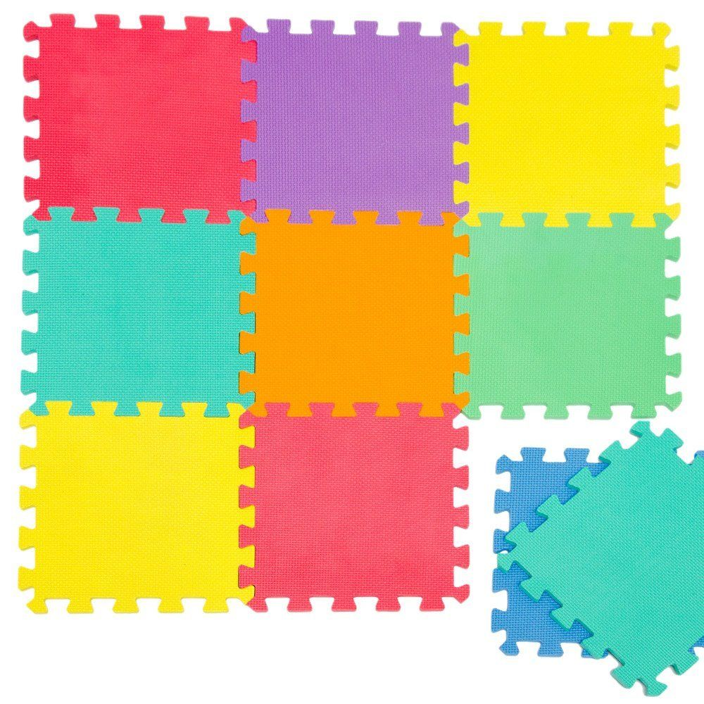 Soft Play Mats for Kids 7 Colors EVA Foam Play Mats