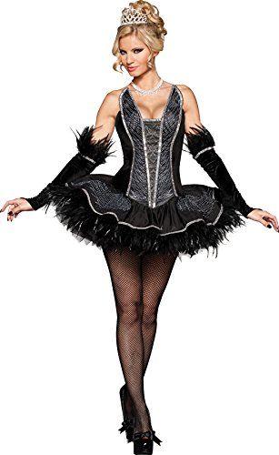 gth womens seductive swan black velvet adults halloween themed costume xs 02 want