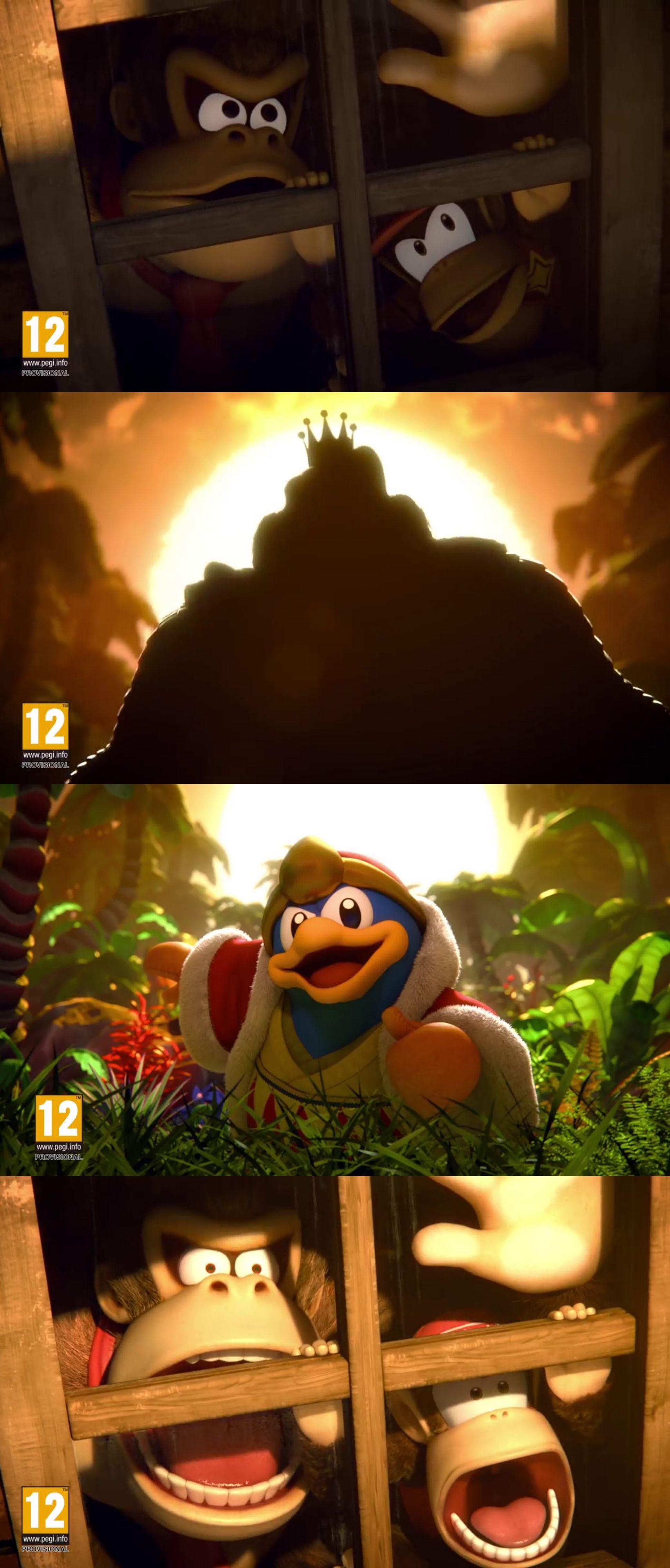 Donkey Kong Diddy Kong King Dedede Super Smash Bros Ultimate