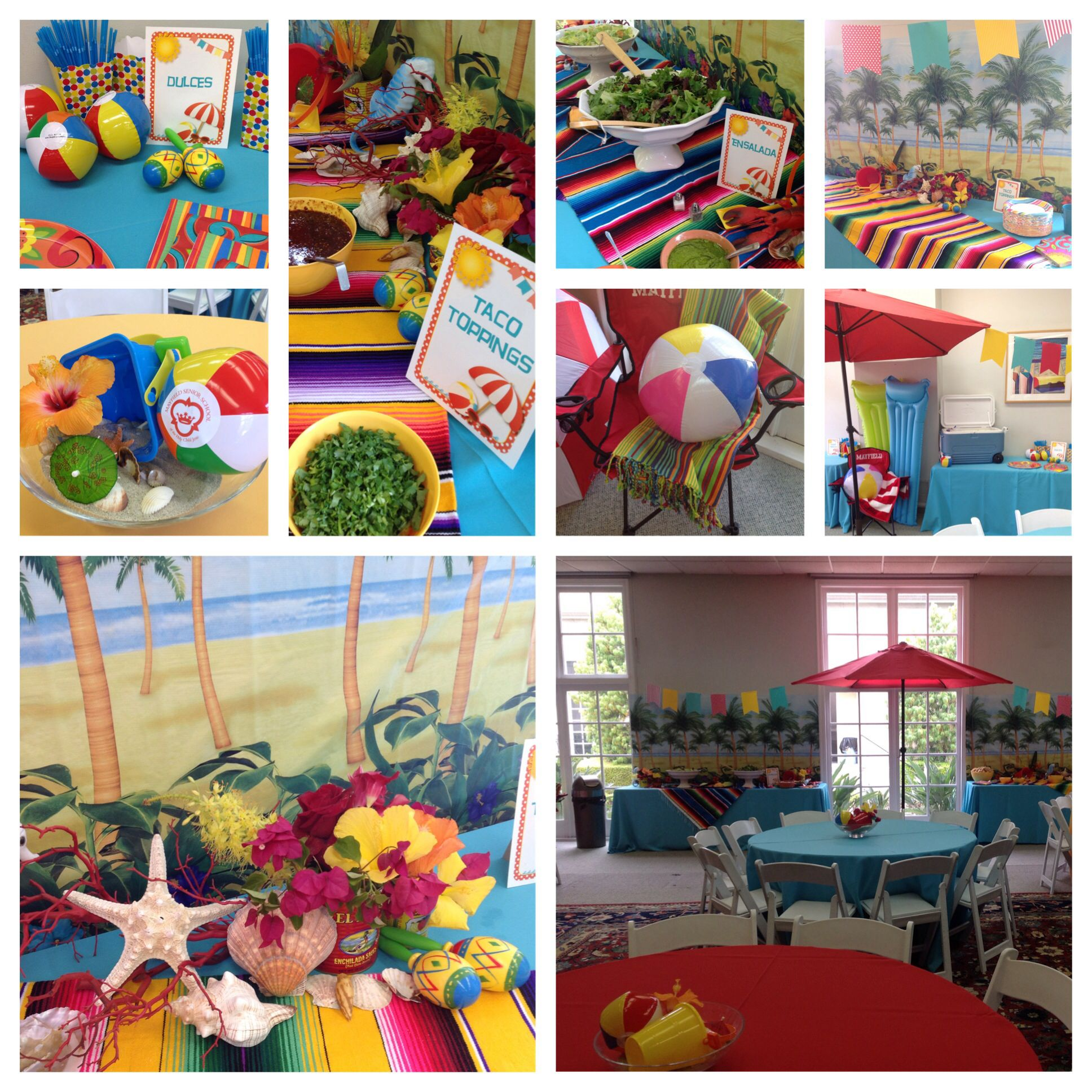 Mexican Beach Theme Party With Images Beach Themed Party