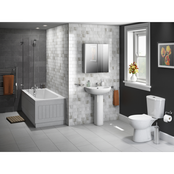 The Essentials Budget Bathroom Suite Shows That You Don T Have To