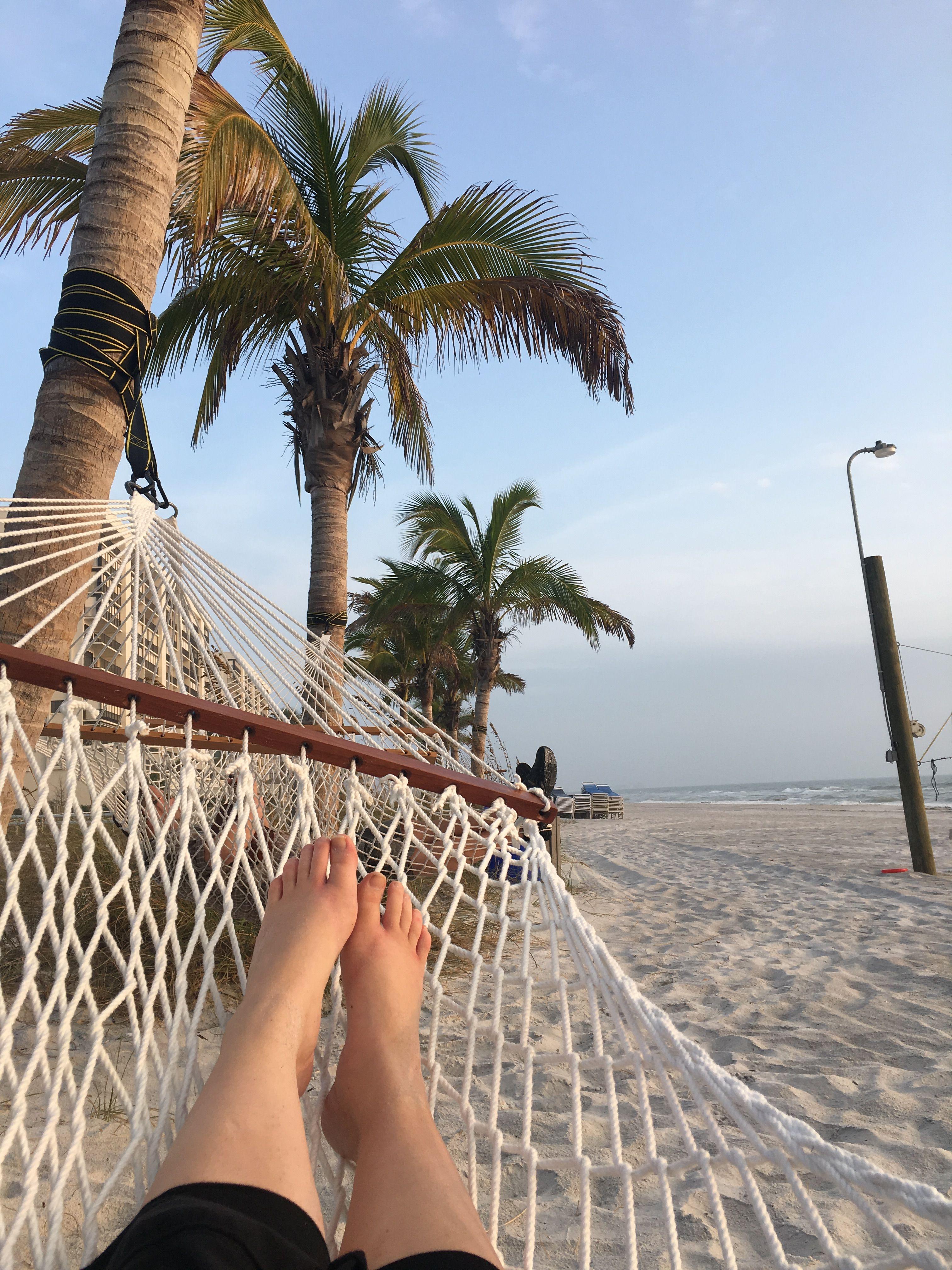 Hammocks on Madeira Beach — at Archibald Beach Park in St