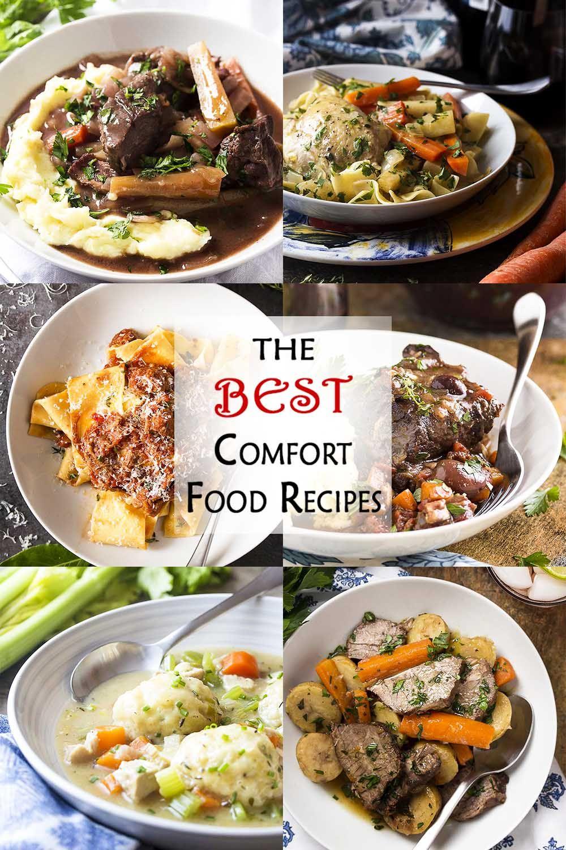 6 Of My Best Comfort Food Recipes Best Comfort Food Food Food Recipes