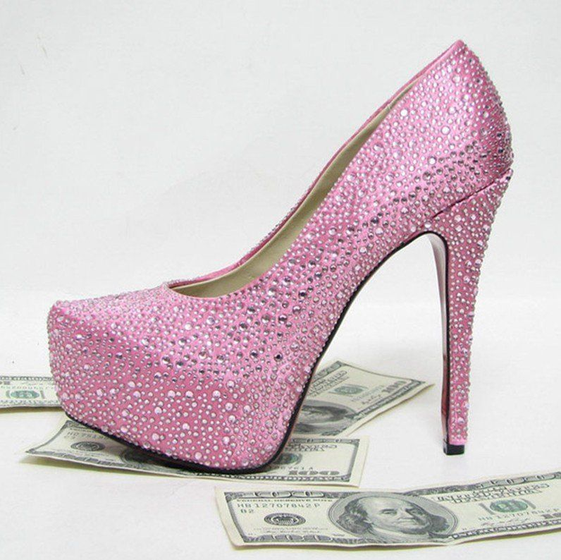 1000  images about Pink sparkly heels on Pinterest | Sparkly high