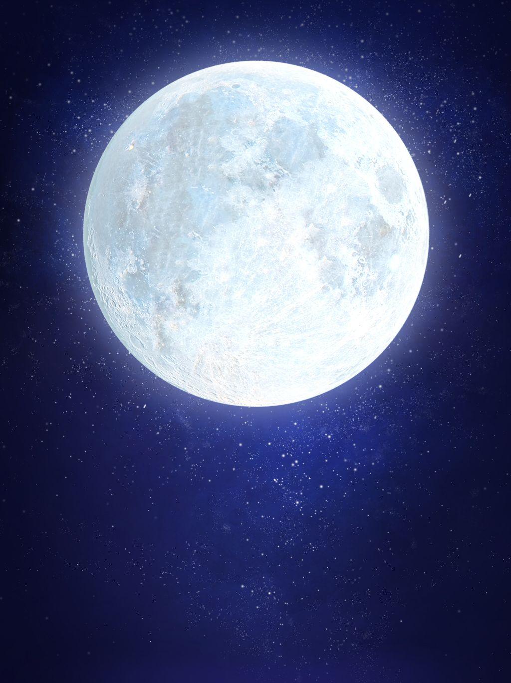 Blaues Sternenherbsthintergrundformat Des Mittleren Herbstfestivals Mid Autumn Festival Star Background Moon Design Art
