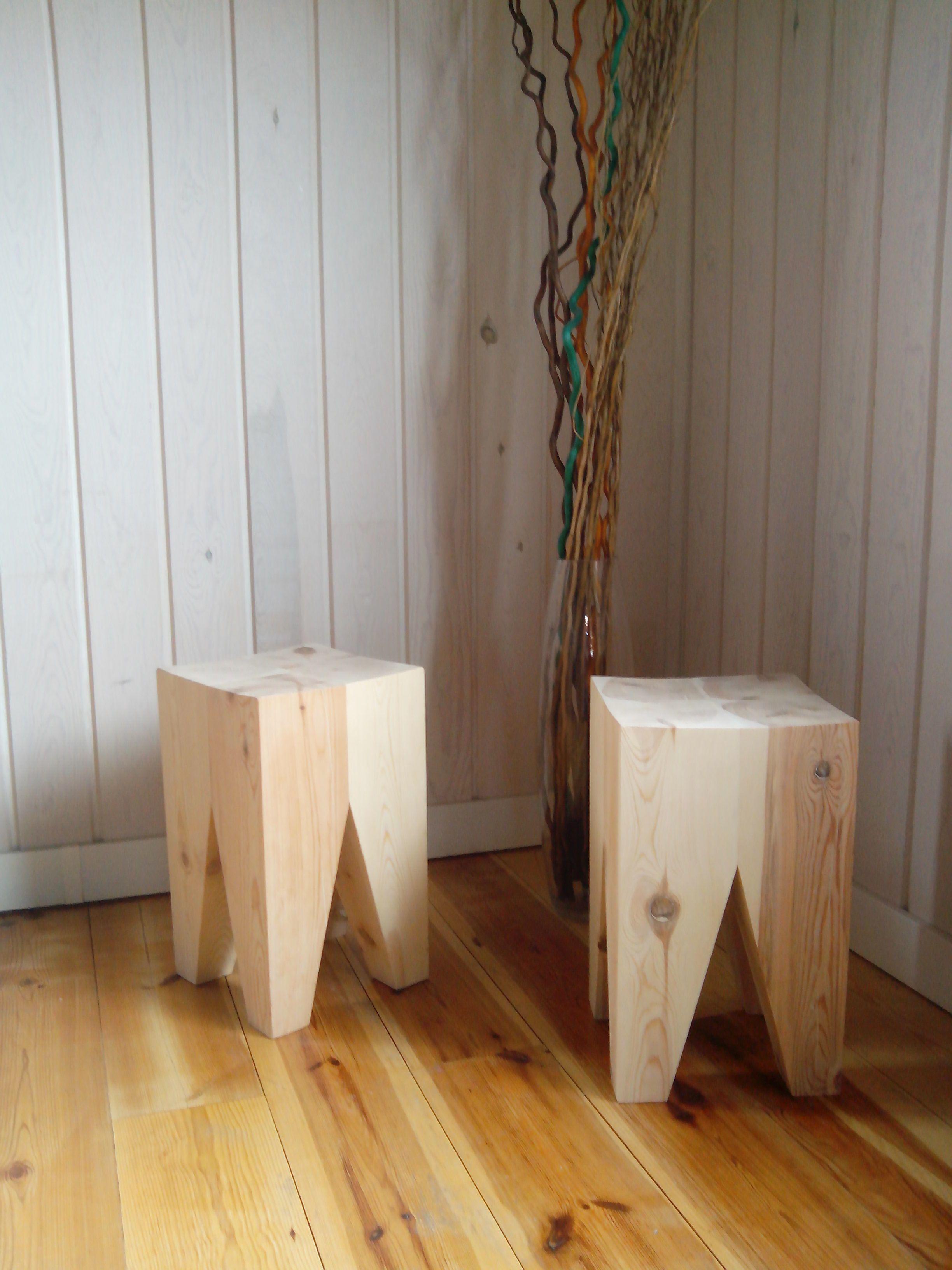 Banqueta MADERAPINOSORIA | Mobiliario con madera... | Pinterest ...