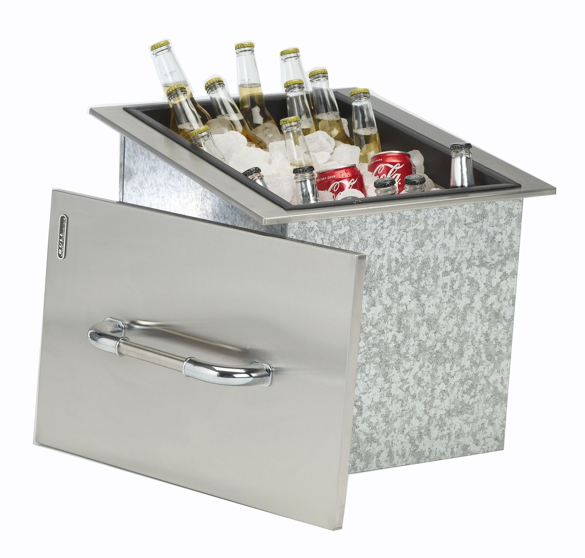 Stainless Steel Drop In Ice Chest Cooler Outdoor Kitchen Design Outdoor Kitchen Ice Chest
