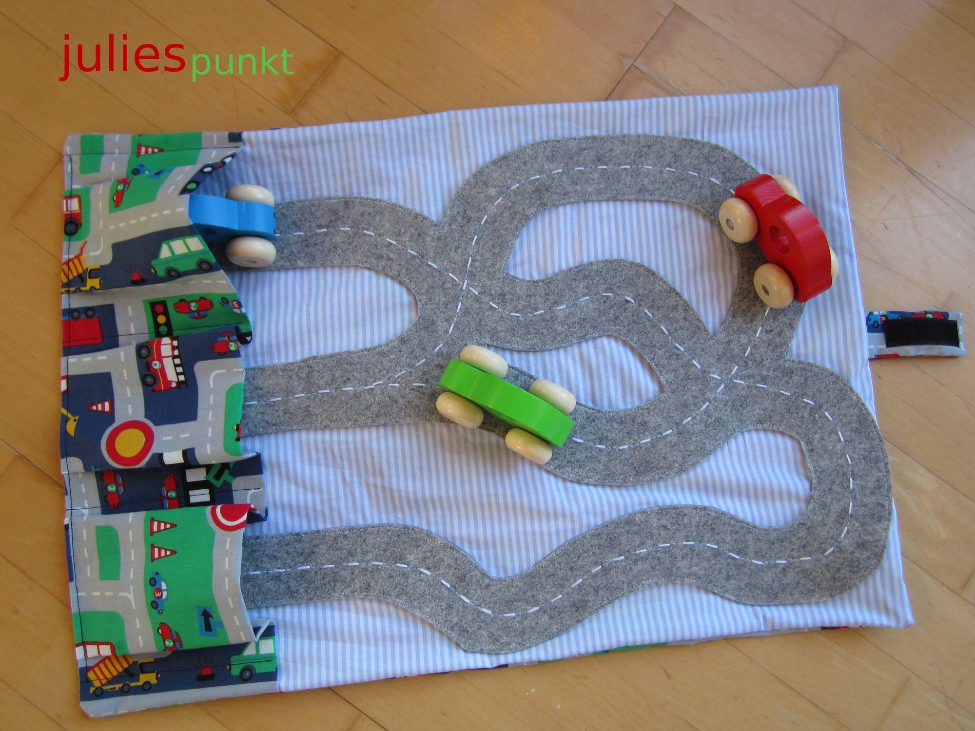 Spielteppich Nähen autoteppich zum mitnehmen lieblingsstücke zum