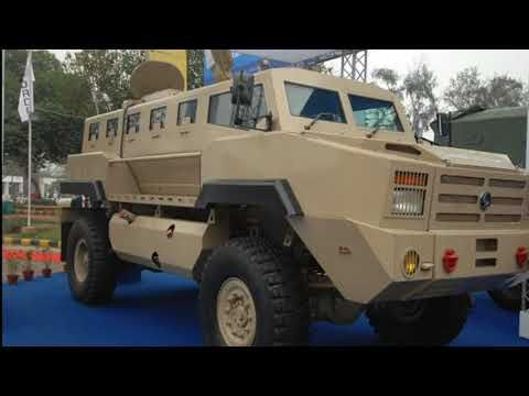 Ashok Leyland 39 S Atc Kavach Mpac Armoured Bus And Mpv Youtube
