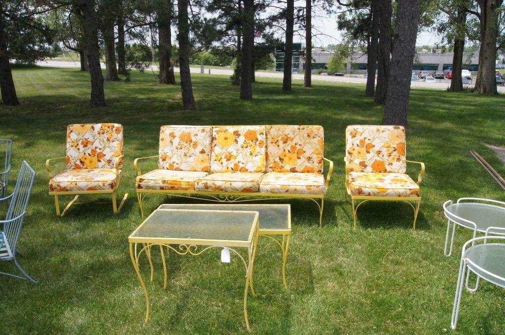 awesome retro patio furniture stylish