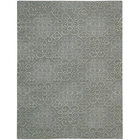 Ambrose AMB01 Area Rug by Nourison, Gray
