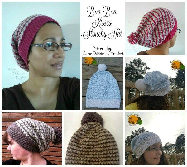 Bon Bon Kisses Slouchy Hat Collage | GORROS | Pinterest | Gorros