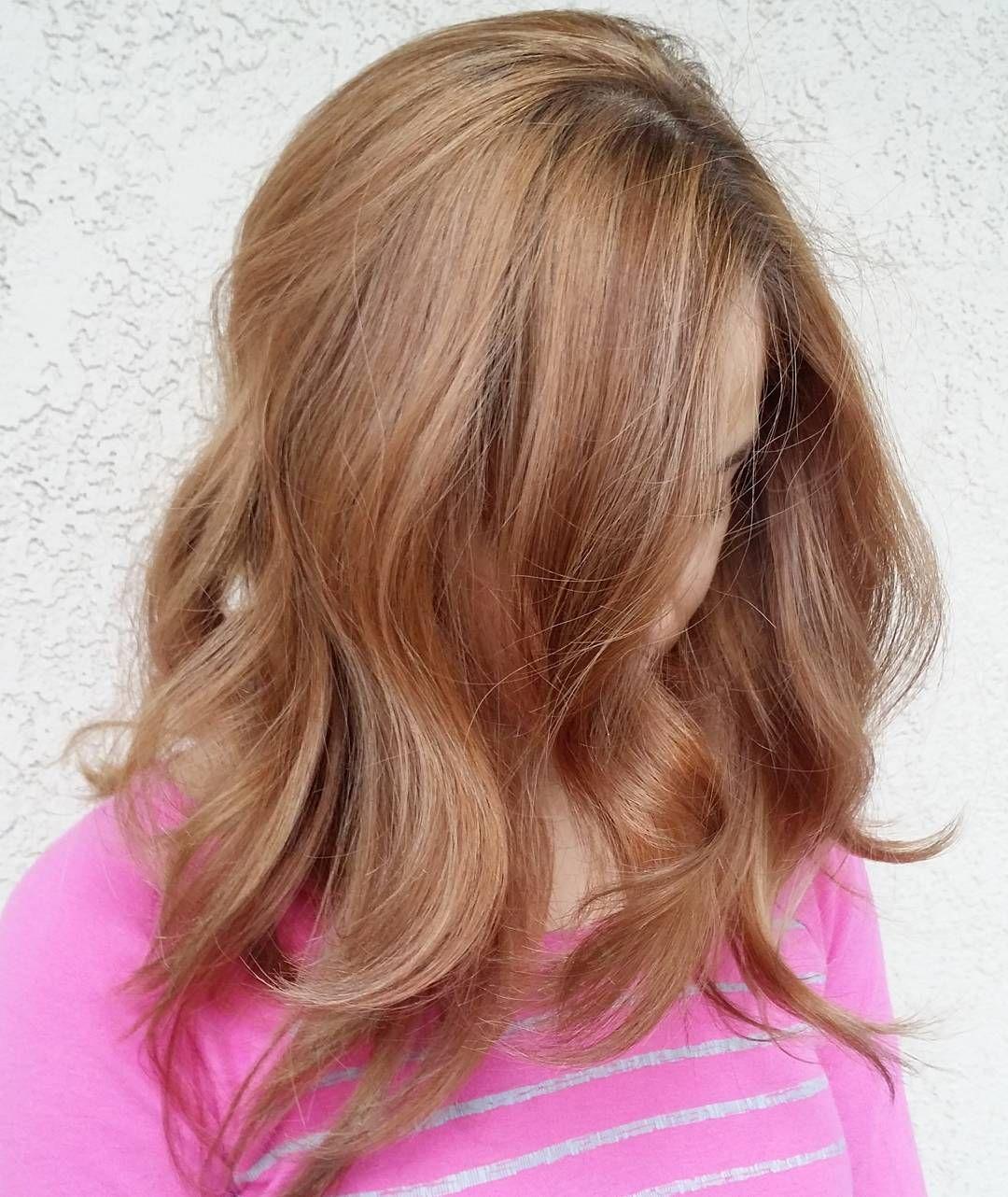 Light wavy strawberry blonde hair today pinterest strawberry