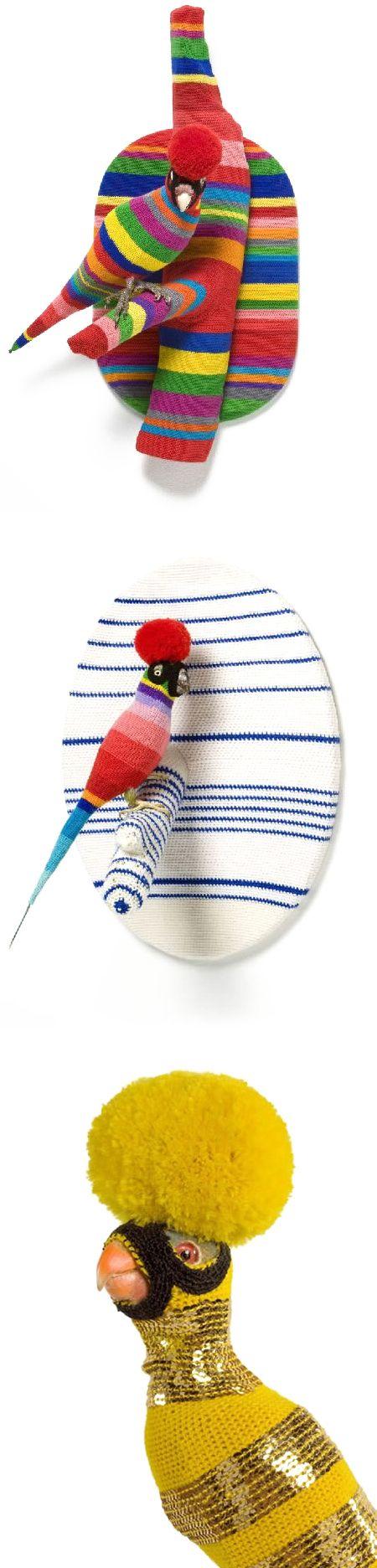 crocheted birds! | Wemonsters | Pinterest | Pájaro, Escultura blanda ...