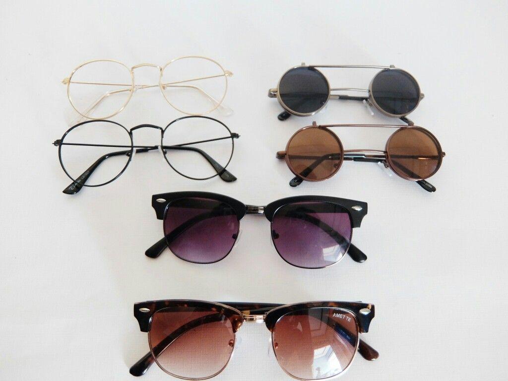 Vul fue glasses clubmaster glasses round glasses flip on glasses ...