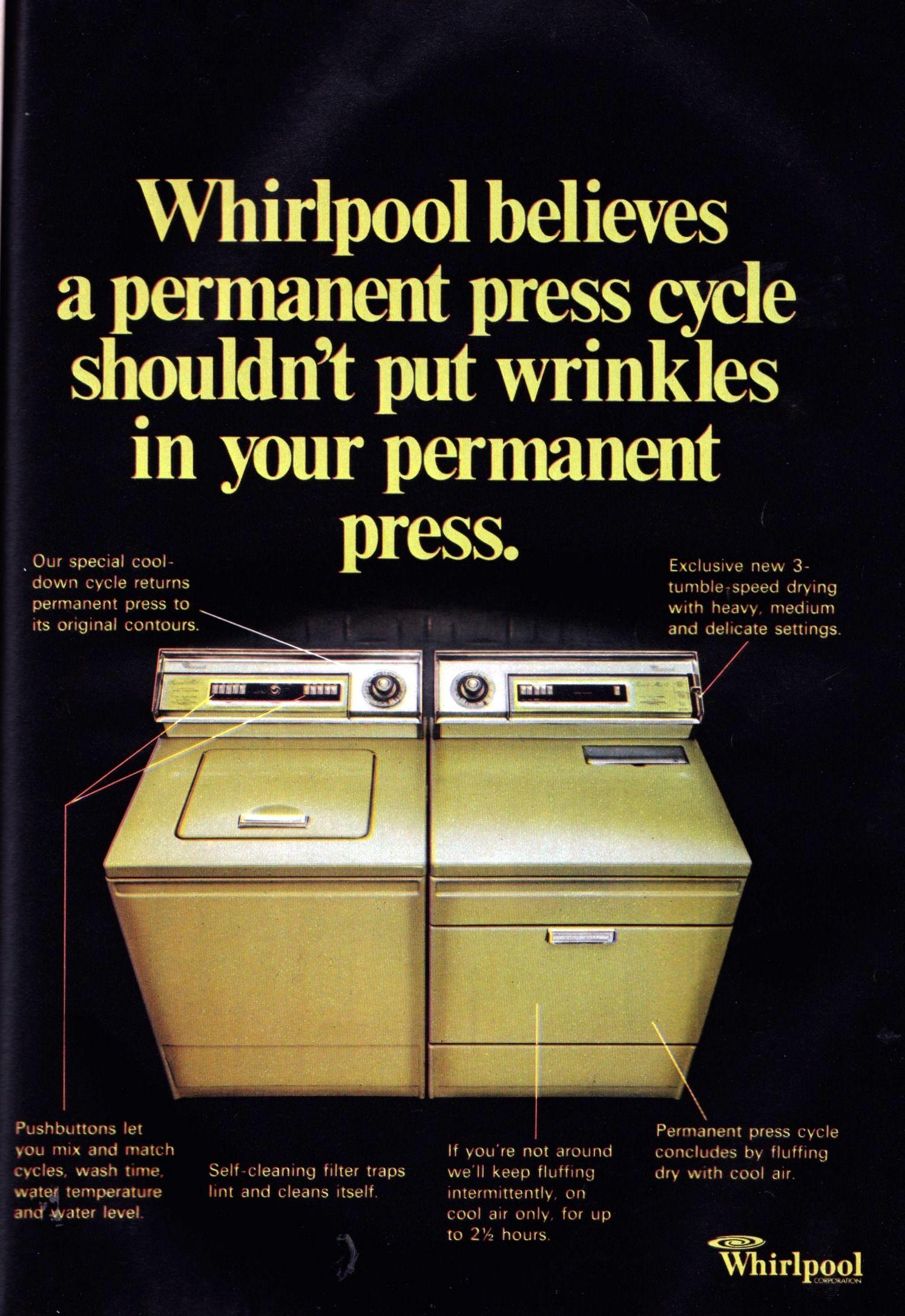 Whirlpool Washer and Dryer Vintage washing machine