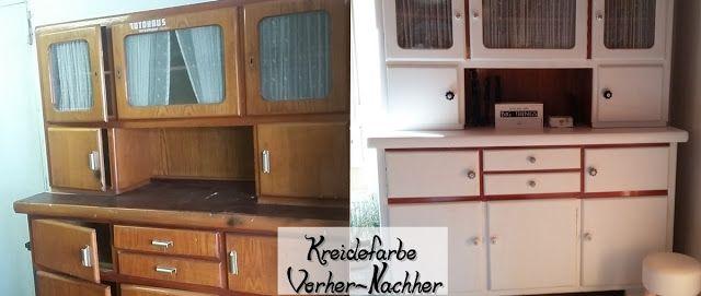 omas k chenschrank neu gestaltet shabby style pinterest omas gestalten und neuer. Black Bedroom Furniture Sets. Home Design Ideas