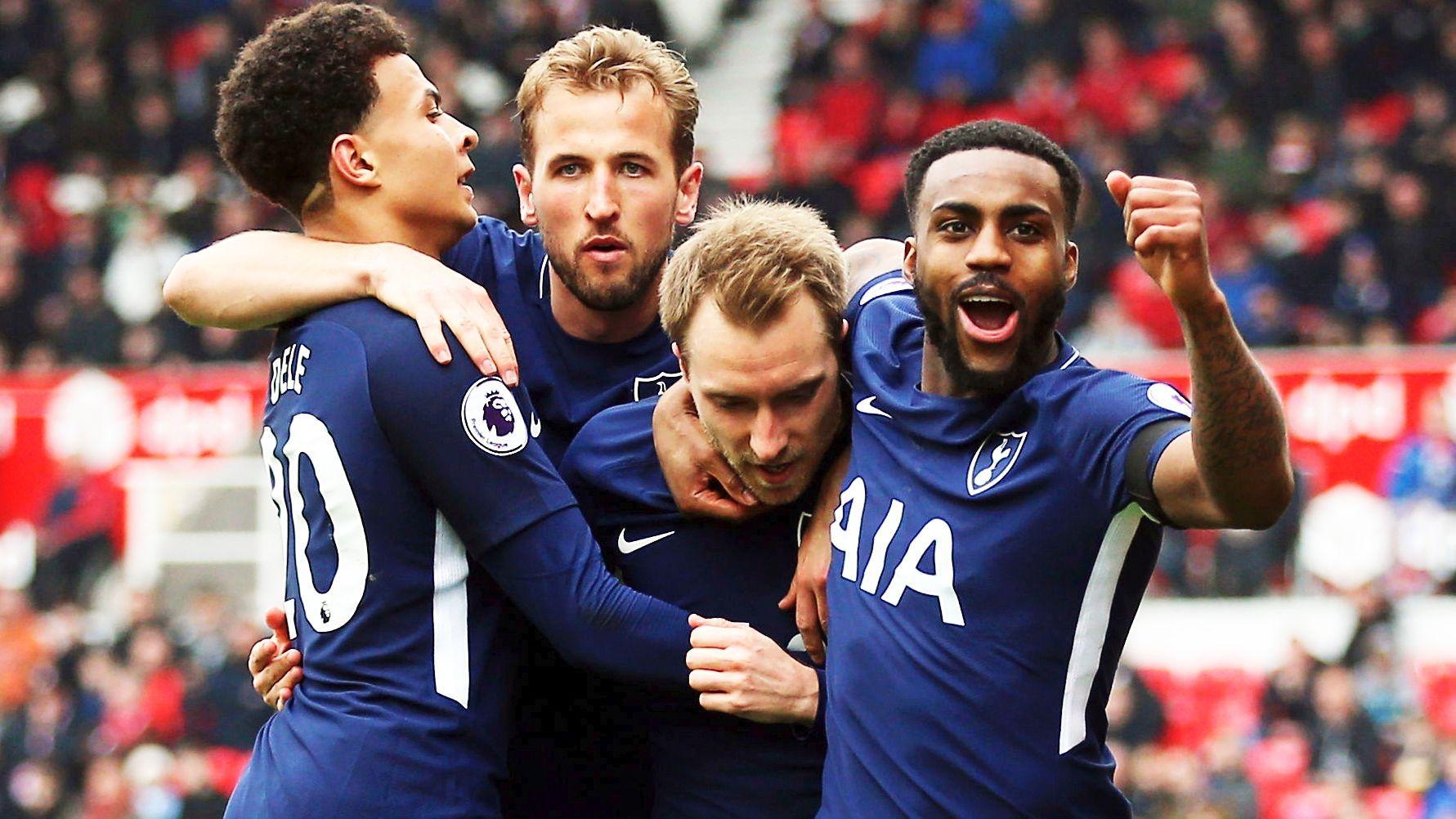 Stoke 12 Tottenham Eriksen stars again Premier league