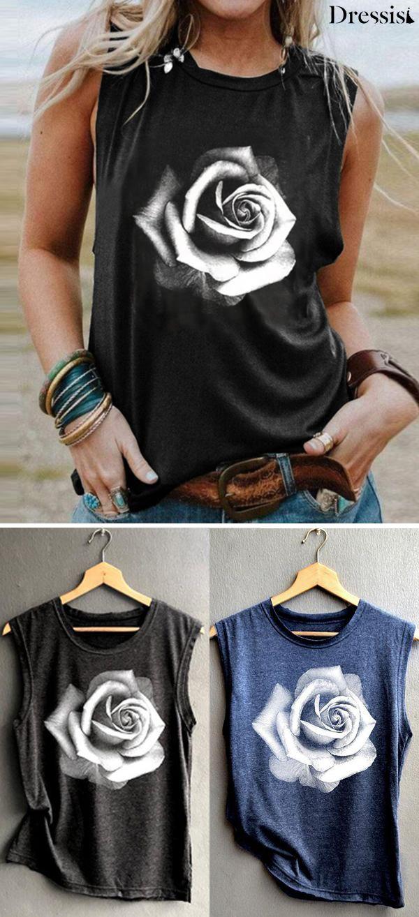 flower T Shirt 0331