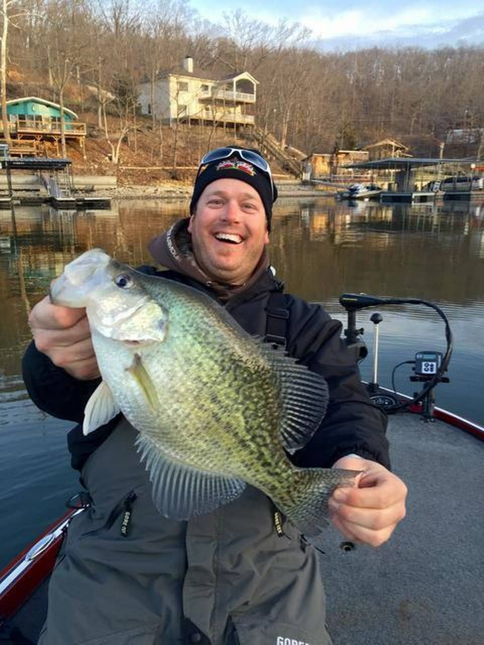 Chad deaver of jefferson city displayed the for Lake of the ozarks fishing