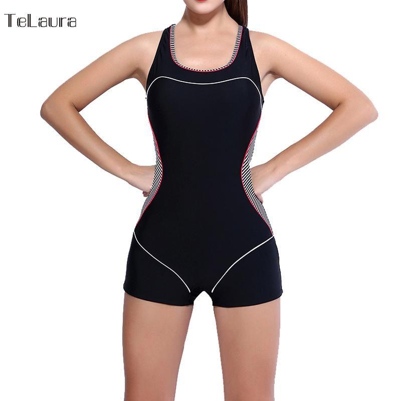 b55971128f66d New One Piece Swimsuit Swimwear Women Sport Sexy Backless Bodysuits Swimsuits  Bathing Suit Plus Size Swimwear